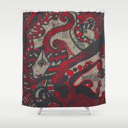 Doodle 4 Shower Curtain