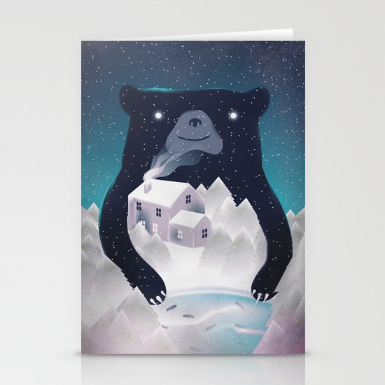 I ♥ Winter Stationery Cards