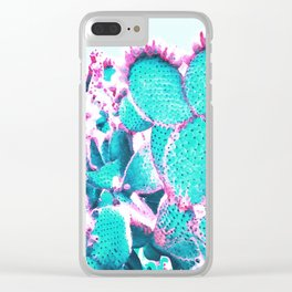 Cactus - watercolor Clear iPhone Case
