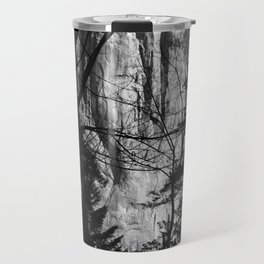Waterfall through the Trees Travel Mug