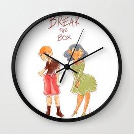 Lâchez nous les poils Wall Clock
