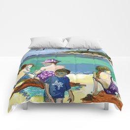 Esmeralda & Brood (Saw Sea Art Series) Comforters