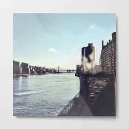 At the East River Metal Print