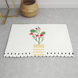 Potted Plant 2 Rug