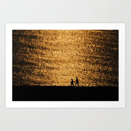 Sunset Art Print