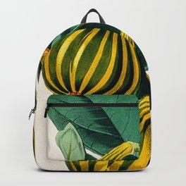 Fig plant, vintage illustration Backpack