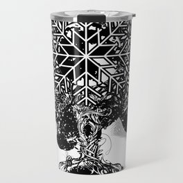 A tree in the dead of winter Travel Mug