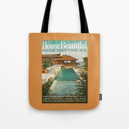 House Beautiful May 1965 Tote Bag