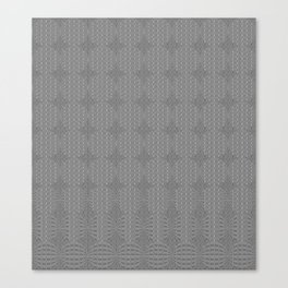 Shades of Gray - Form and Shape Canvas Print