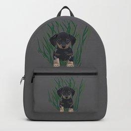 Sausage Dog Design Backpack