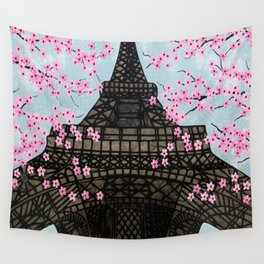 The Eiffeltower Wall Tapestry