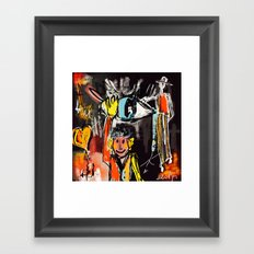 Say  Hello to Life Framed Art Print