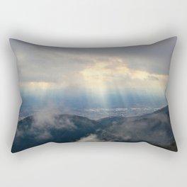 Heaven Descending Rectangular Pillow