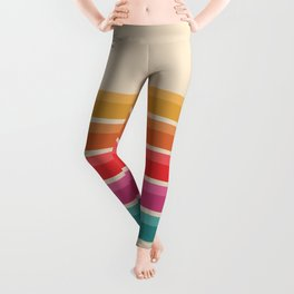Retro Horizon #724 Leggings