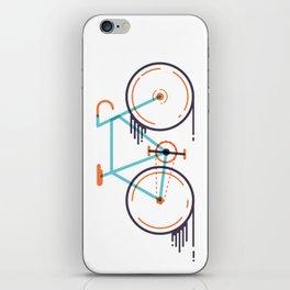 speed bike iPhone Skin