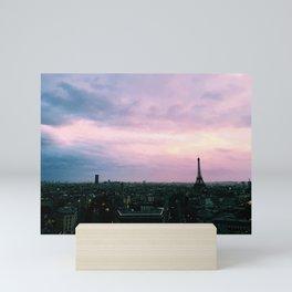 La Tour Eiffel Mini Art Print