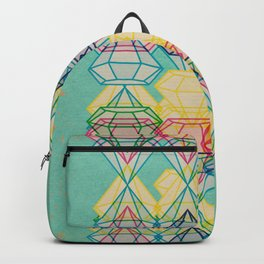 Diamonds CMYK Backpack