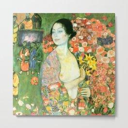 """Gustav Klimt """"Die Tänzerin (vorher Ria Munk II)(The Dancer (formerly Ria Munk II))"""" Metal Print"""