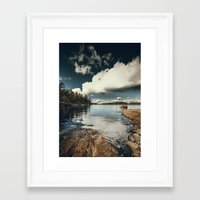 ice Framed Art Prints featuring Belle Svezia by HappyMelvin