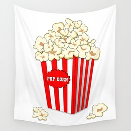 Popcorn time Wall Tapestry
