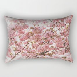 PINK - ROSES - BOSSOMS - TREE Rectangular Pillow