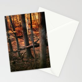 Sky Fire - surreal landscape photography Stationery Cards