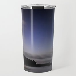 Moon over Ana-ananui beach Travel Mug