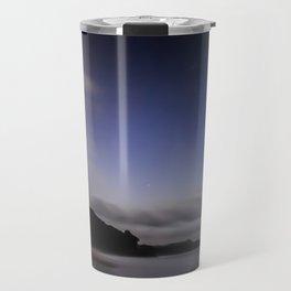 Moon over Ana-ananui beach Travel Mug