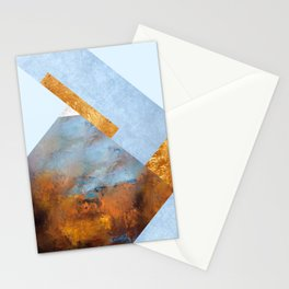 Modern Mountain No5-P1 Stationery Cards