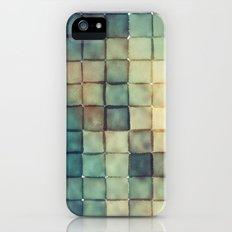 Polaroid Pixels III (Chain) iPhone (5, 5s) Slim Case