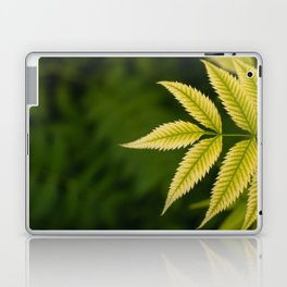 Plant Patterns - Leafy Greens Laptop & iPad Skin