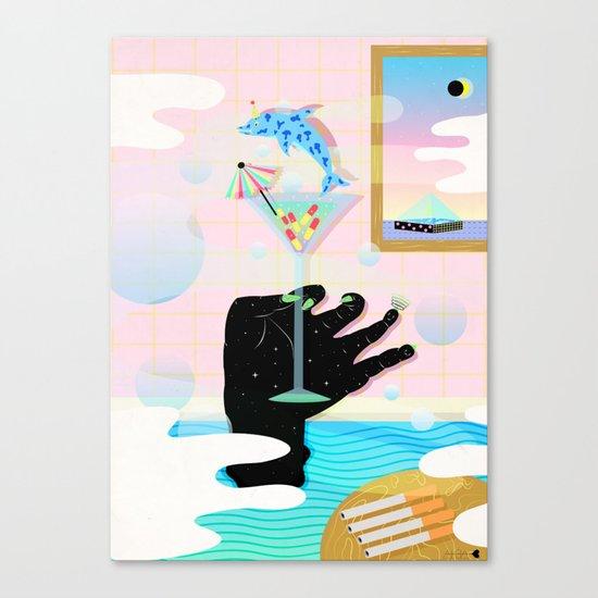 get weird Canvas Print