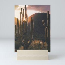 Saguaro Sunshine Mini Art Print