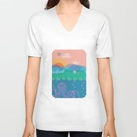 under the sea V-neck T-shirts featuring Under Sea by Loop in the mind