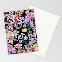 FLORAL GARDEN 3 #floral #flowers #vintage Stationery Cards