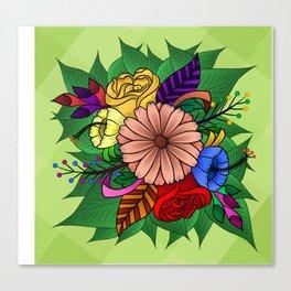 Blossom-Love Nature Canvas Print