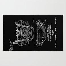 Motor Car Patent - Black Rug