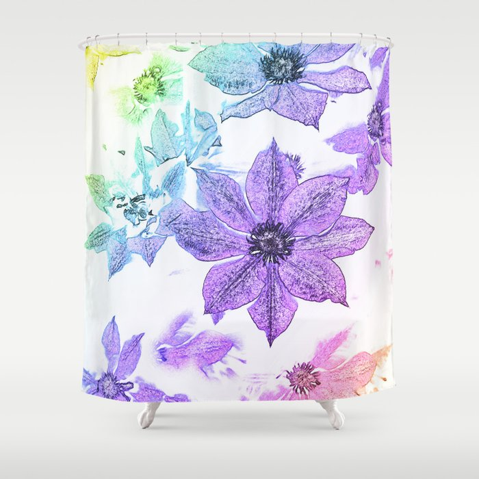 Morning Glory #1 Shower Curtain