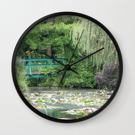 Giverny Wall Clock