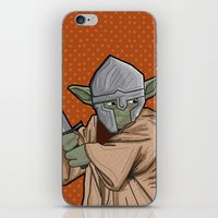 medieval iPhone & iPod Skins featuring Yoda medieval  by  Steve Wade ( Swade)