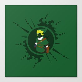 Link - Legend Of Zelda Canvas Print