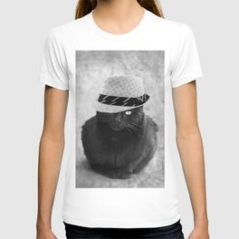Cat with hat T-shirt