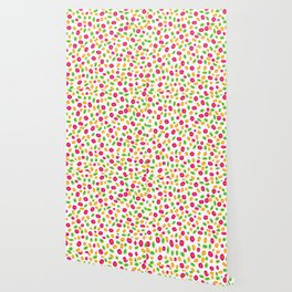 Colorful Circles Abstract Print Wallpaper