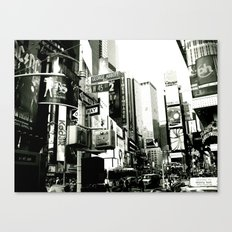 WHITEOUT : Life in the City Canvas Print