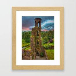 Blarney Castle Colour Framed Art Print