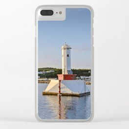 Light house at Mackinac Island - Michigan Clear iPhone Case