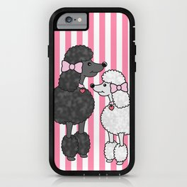 Pretty Poodles iPhone Case