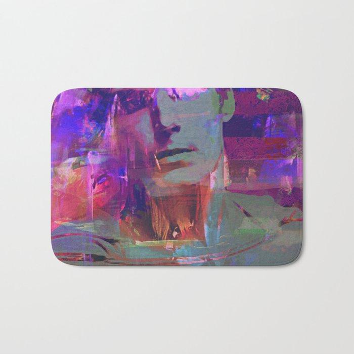 Super Abstract Man Bath Mat