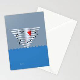 Kite Dancing in a Hurricane  Stationery Cards