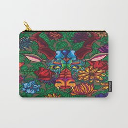 Dragon in Flowers Carry-All Pouch